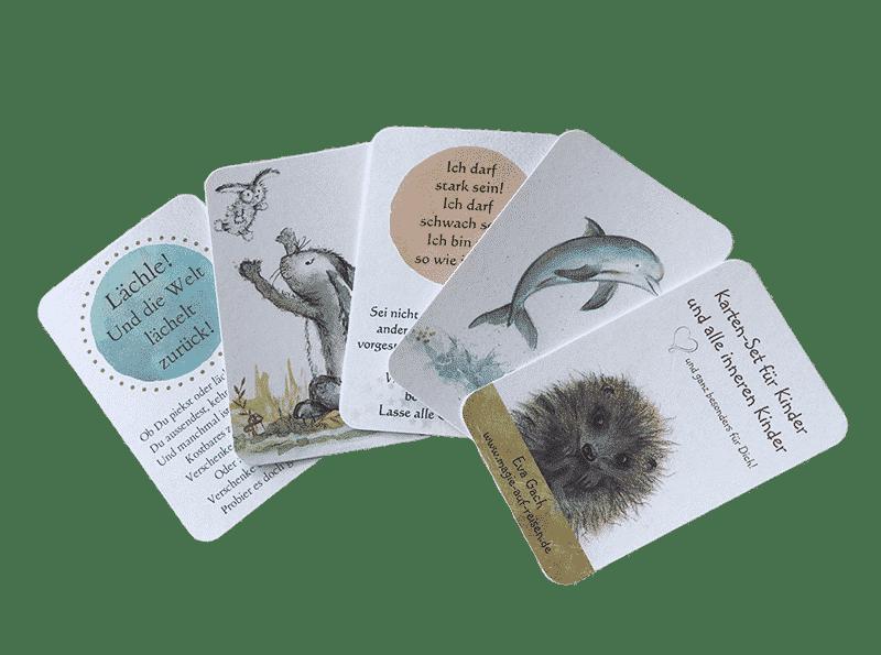 zauberhaftes Tier-Kartenset